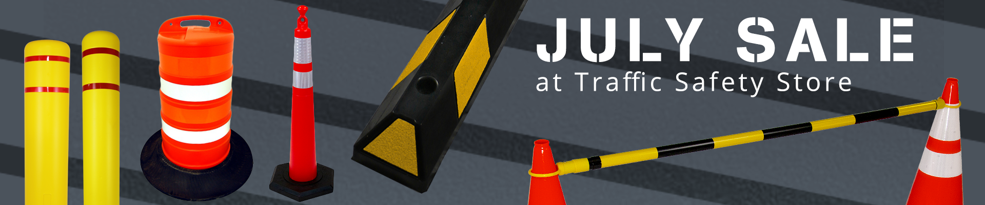July Sale at the Traffic Safety Store