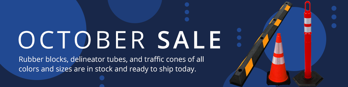 October Sale at the Traffic Safety Store