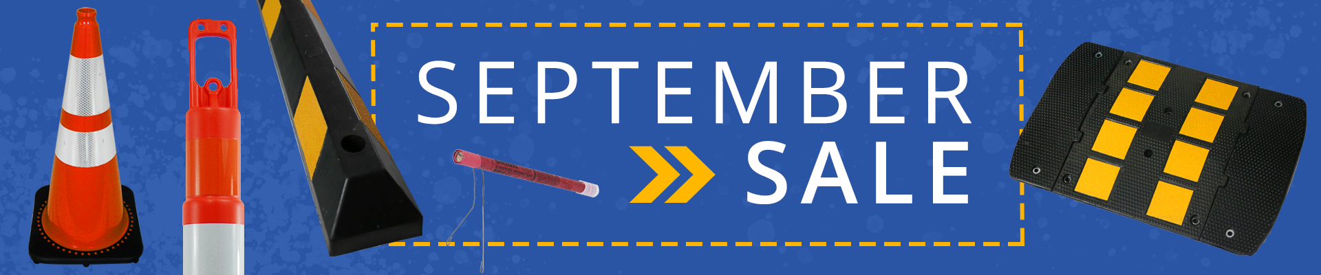 September Sale at the Traffic Safety Store