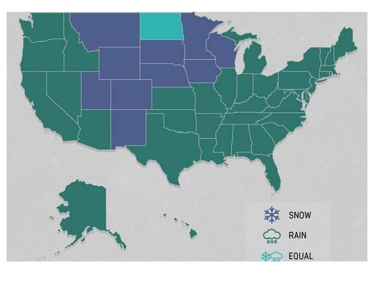 traffic accidents by weather conditions U.S.