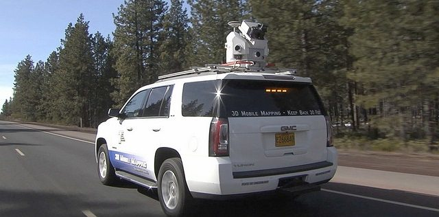 Vehicle with LiDar Scanner, Credit: Oregon DOT on FLickr