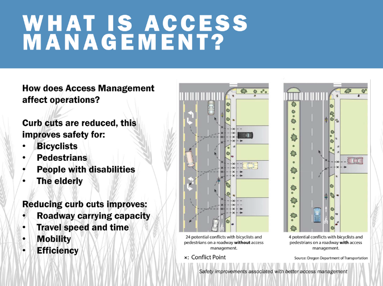access management engineering tips improve city streets