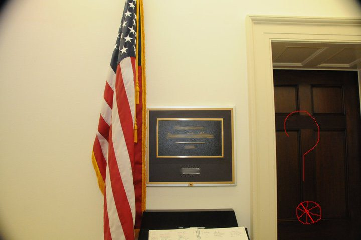 Check Out The Pro-Biking Bling In This Congressman's Office