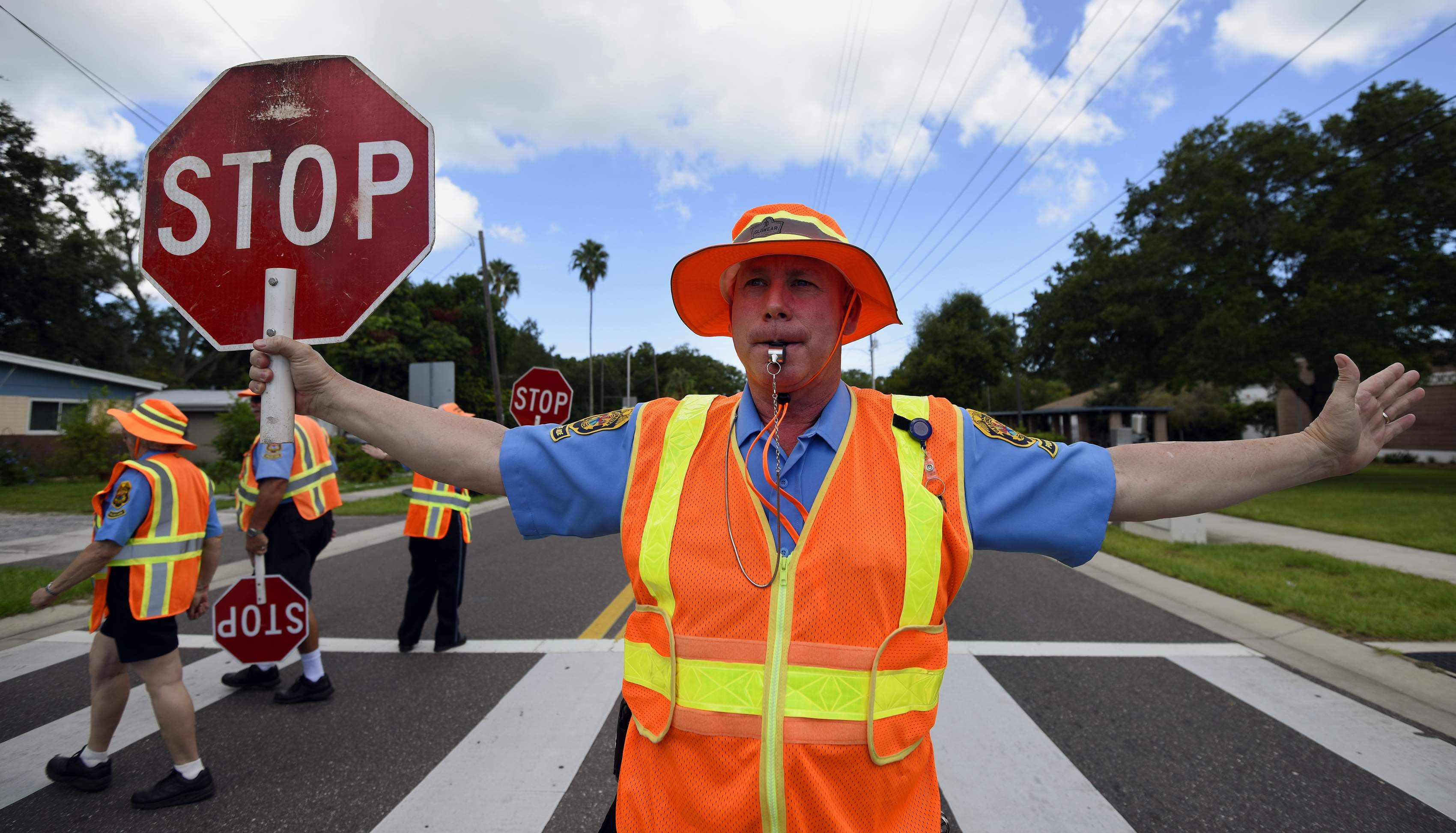 school zone safety crossing guards