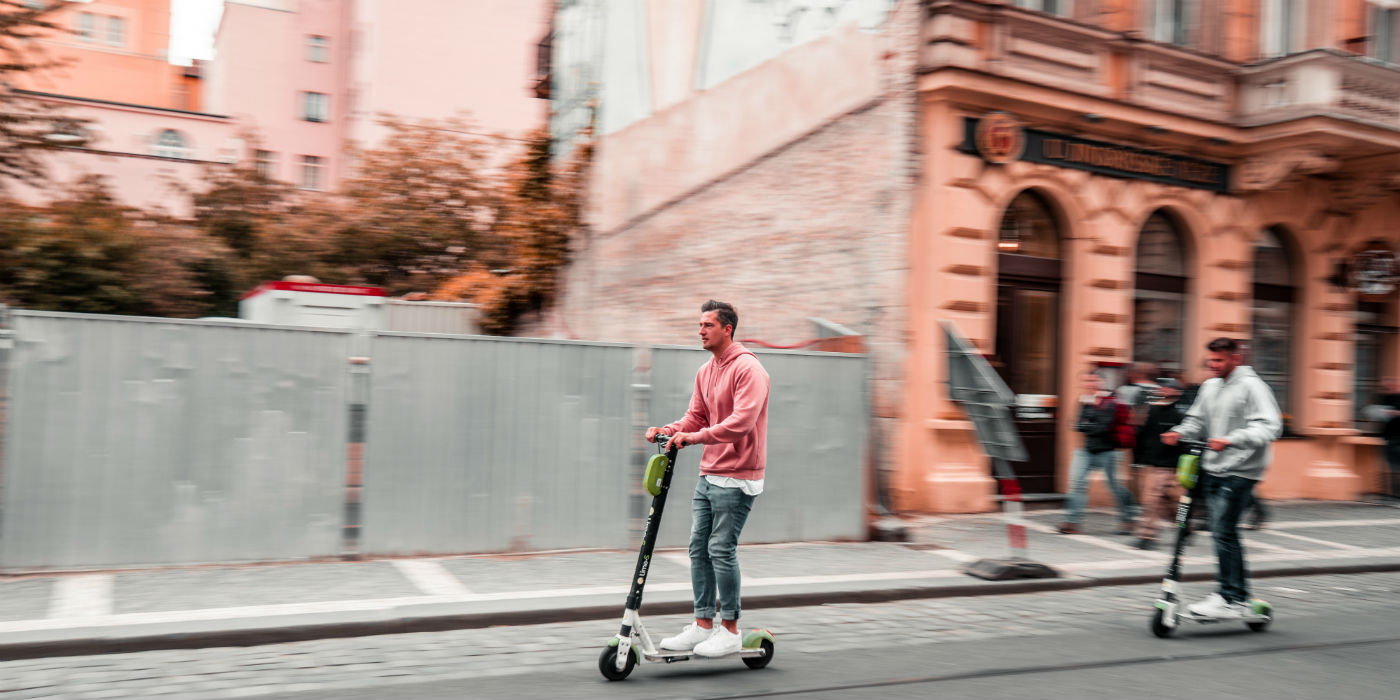 The Rise Of Electric Scooters Across U.S. Cities