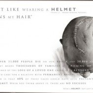 Don't Be a Fool; Wear a Helmet