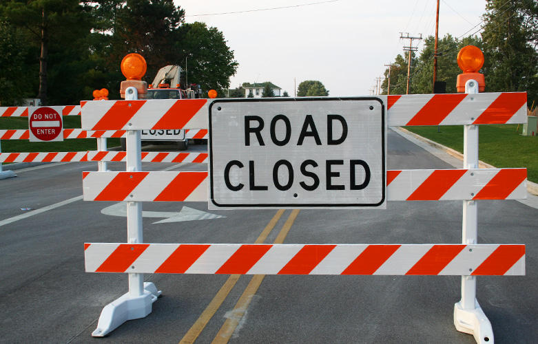 road construction type barricades traffic safety store