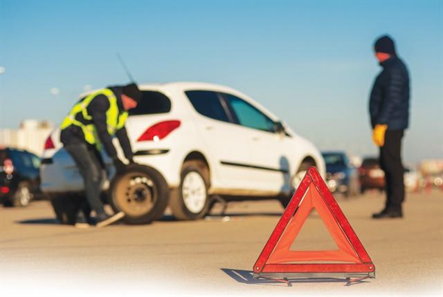 safety vest roadside repair safety