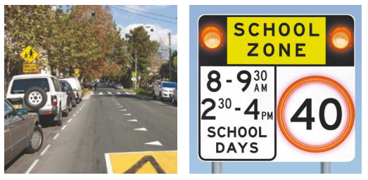 school zone safety tips for school safe routes to school