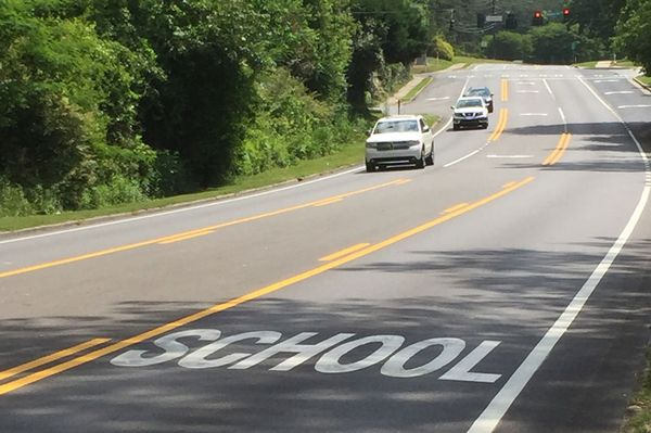 school zone safety pavement markings make school zones safer tips