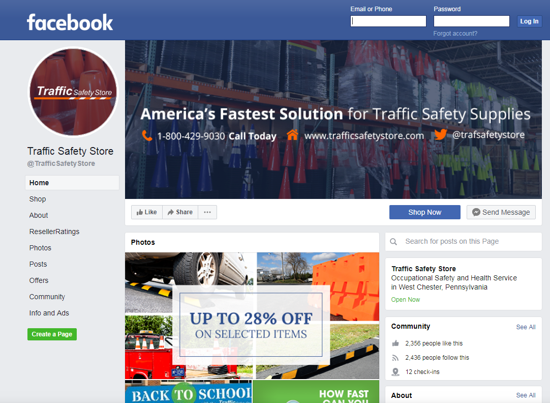traffic safety store facebook