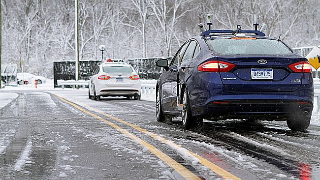 weather impacts autonomous car technology sensors