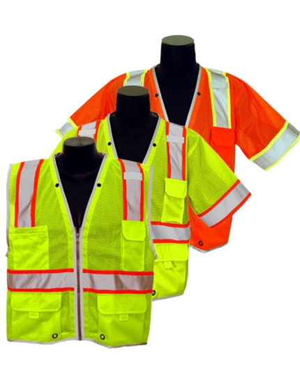 Class 2 & Class 3 Brilliant Safety Vests