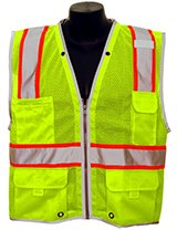 Lime 'Brilliant' Series Class 2 Safety Vest