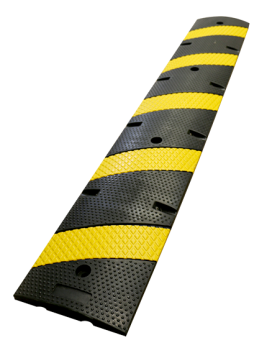 6' Economy Rubber Speed Bumps