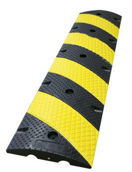 4' Economy Rubber Speed Bumps
