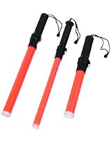 Red LED Traffic Wands