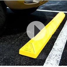 Parking Blocks Car Stops Bumper Curbs In Plastic Rubber