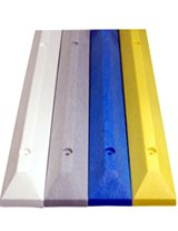 Recycled Rubber Parking Blocks Plastic Commercial Industrial Heavy Duty Solid