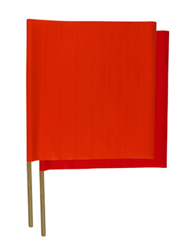 "24"" Construction Flags"