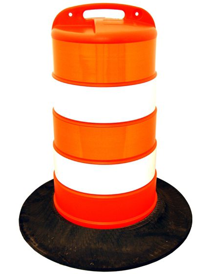 Plastic Barricade Channelizer Drums | Traffic Safety Store
