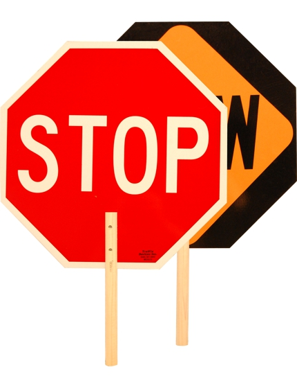 Stop/Slow & Stop/Stop Paddles