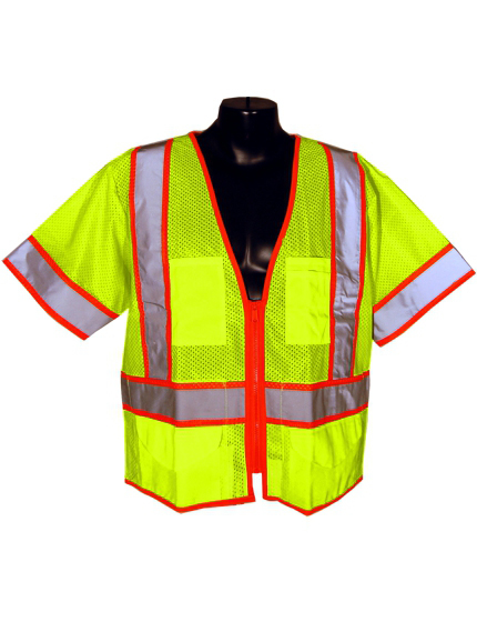 Ultra Cool Class 3 Mesh Safety Vest Traffic Safety Store
