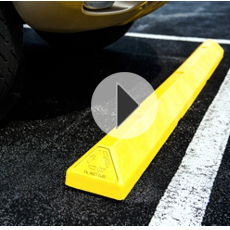 Parking Blocks Car Stops Curbs Bumpers Plastic Rubber