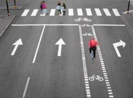 separated bike lanes